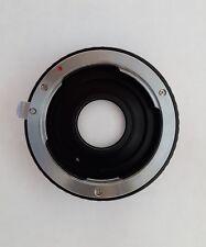 Pentax K to Nikon F mount adaptor for D3100, D5100, D7000, D750, D800...