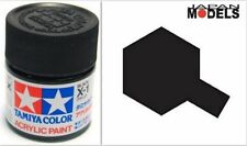 Acrylic Paint - Colore Acrilico Vernice 10ml X-1 X1 BLACK 81501 Tamiya