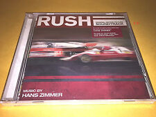 RUSH soundtrack HANS ZIMMER cd SCORE ost DAVID BOWIE thin lizzy WINWOOD edmunds