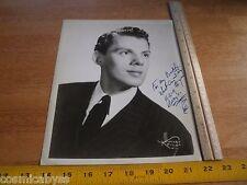 Tommy Wonder ORIGINAL Signed 8x10 photo stage dancer broadway 1940's Our Gang