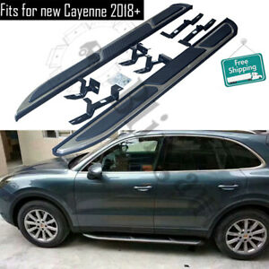 2pcs Running board fits for 2018-2020 Porsche Cayenne side step nerf bar