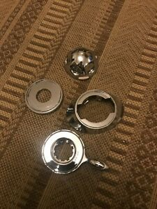 MIRA EXCEL CHROME CONTROLS AND DIALS USED AND REFURBED
