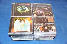 LOTE DE 60 CD'S DE ROCK Y HEAVY - EN MUY BUEN ESTADO