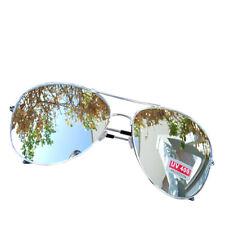 Sonnenbrille Pilotenbrille Verspiegelt Fliegerbrille Silber Brille UV400 schützt