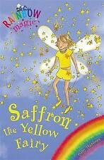 Saffron the Yellow Fairy: The Rainbow Fairies: Book 3 by Daisy Meadows (Paperba…
