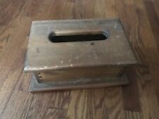 Wooden Tissue Holder Cover Solid Wood