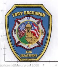 Puerto Rico - Fort Buchanan PR Fire Dept Fire Patch