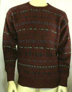 LOBO by Pendleton Men's Burgundy Pure Virgin Wool Size M