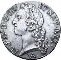 Louis XV Ecu au bandeau 1760 Lille Superbe exemplaire