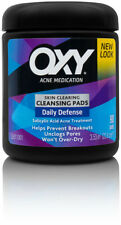 *UK* LARGE Oxy DAILY DEFENSE Skin Cleansing Pads Acne Spot Medication/Wipes 90