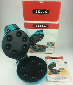 Bella Sensio Cake Pop and Donut Hole Maker Model 13547 Instructions Included