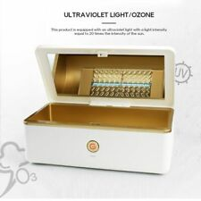 UV Sterilizer Disinfection Cabinet Nail Art Makeup Brush Manicure Cleaning Box