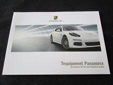 2014 2015 Porsche Panamera Tequipment Brochure GTS 4S Turbo S E-Hybrid Catalog