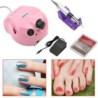 Pro Electric Manicure Nail Art File Drill Pedicure Nail Cutters 20000/30000 RPM
