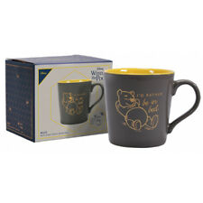 """Disney Winnie The Pooh """"I'd Rather Be In Bed"""" Tapered Mug in Gift Box - New"""