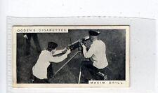 (Jc8503-100)  OGDENS,MODERN WAR WEAPONS,MAXIM DRILL,1915,#5