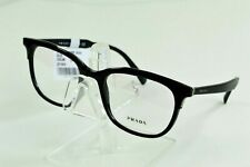 Prada Eyeglasses Black Mens Full Rim Round VPR05V-2641O1 53/19/145