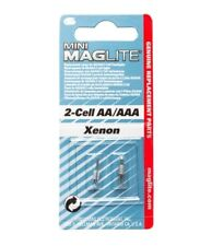 MINI MAGLITE REPLACEMENT LAMPS FOR AA/AAA 2-CELL FLASHLIGHTS XENON - BRAND NEW !