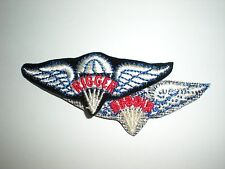 US ARMY PARACHUTE RIGGER WINGS PATCH - COLOR