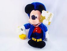 NEW DISNEY STORE BEANIE MICKEY MOUSE AS PAUL REVERE  WITH TAGS