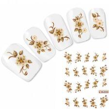 Nagel Sticker Blume Tattoo Flower Nail Art Aufkleber Neu!