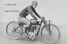 Indian 61 ci 'Daytona' Sidevalve factory racer & Hammond Springs 1921 – photo