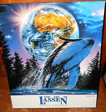 New The Art of Lassen 550 piece puzzle Whale Star Christian Riese Unopened