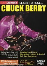 LICK LIBRARY Learn to Play CHUCK BERRY JOHNNY B GOODE Rock Song Guitar Tutor DVD