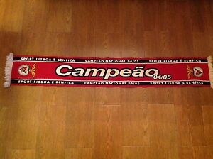 Benfica Football Soccer Lisbon Official Club Merchandise from 2004/2005 Victory