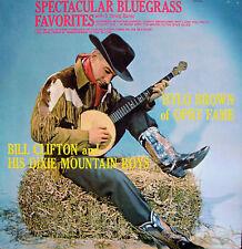 HYLO BROWN BILL CLIFTON BLUEGRASS FAVORITES LP 1964