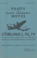 SHORT STIRLING I, III & IV - PILOT'S NOTES