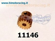 11146 PIGNONE 16 DENTI METALLO MODELLI ELETTRICI MODULO 0.6 MOTOR GEAR HIMOTO
