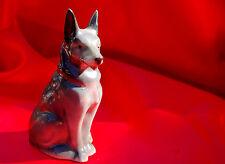 Vintage Porcelain dog Germany German Shepherd Belgian Malinois    Very nice!! *
