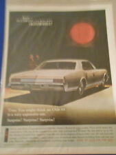 Vintage Original Automobile Advertisement Ad 13 x 10 Oldsmobile Delta 88