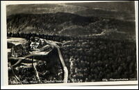 Tabarz Thüringer Wald Postkarte 1942 Großer Inselsberg Original Fliegeraufnahme