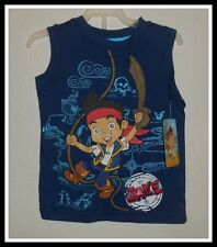 Nwt Disney Jake And The Neverland Pirates Tank Top Shirt Boys Size 24 Months