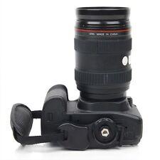 SLR/DSLR Portable Camera Bag Camera Leather Wrist Strap Black Hand Grip