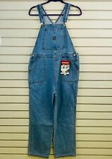 Womens L Unionbay Siouxsie TBT Overalls Medium Blue Wash New