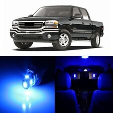 17 x Blue LED Interior Light Package For 1999 - 2006 GMC Sierra + PRY TOOL