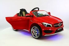 Mercedes CLA 12V Kids Ride-On Car MP3 USB Player Battery Powered Wheels RC Toy