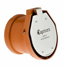 Capricorn - Valvola antiriflusso con flap, DN 110 aletta per tubi HT KG