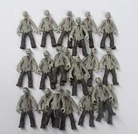 lot of 20 Bloks Call of Duty Zombies Outbreak The Walking Dead action figure F