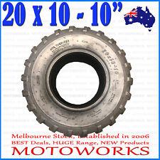 "4ply 20x10-10"" Inch Rear Back Tyre Tire 200c 250cc Quad Dirt Bike ATV Buggy"