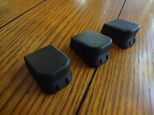 (3 Pack) Plus 2 Magazine Base Extension Bottom Mag Plate GLOCK 17 19 26 22 23 27