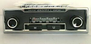 BECKER EUROPA II STEREO 662 Vintage Classic Car Radio BLUETOOTH MODERN INTERNALS