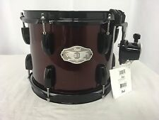 "Pearl Vision VX 10"" Diameter X 8"" Deep Mounted Tom/# 91/Red Wine/Brand New"