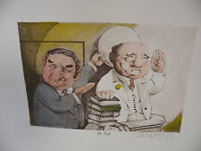 Art print Charles Bragg artistic Signed Color Lithograph the oath limited editio