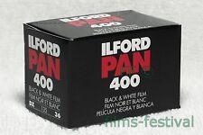 10 rolls ILFORD PAN 400 35mm 36exp B&W Film 135-36
