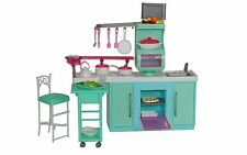 Barbie Size Dollhouse Furniture Cooking Corner Kitchen Set Toys New