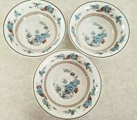 Noritake Bleufleur Coupe Three Cereal Bowls Made Japan Made